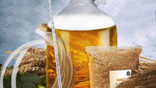 Et meget godt ølbrygningssæt